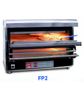 Four à pizza électrique avec hotte intégrée - 1 à 4 pizzas