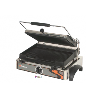 Appareil à panini grill contact fonte