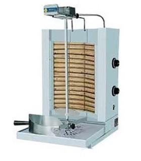 Kebab gaz / électrique - de 30 à 70 Kg cuisson rapide