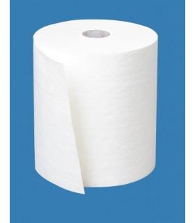 Essuie-mains rouleau blanc 130m (carton de 6 rouleaux) - Orapi