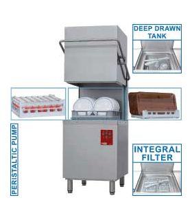 Lave-vaisselle capot, panier 500x500 mm - Diamond