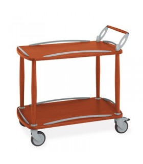 chariots de service en bois - Metalcarerrelli