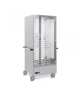 Vitrine chauffante 88 assiettes - Metalcarrelli