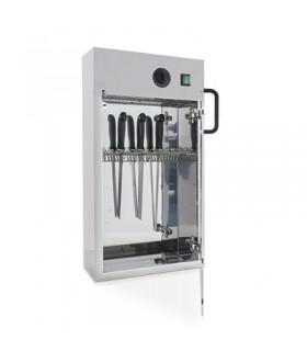 Armoire stérilisateur pour couteaux en acier inoxydable - Metalcarrelli