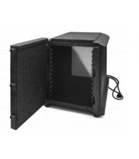 Boîte isotherme avec système de chauffe électrique