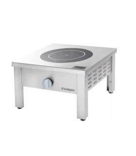 Réchaud électrique avec manettes ergonomiques longueur 400 mm