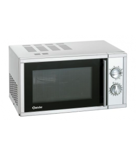 Four micro onde grill inox - 23 litres