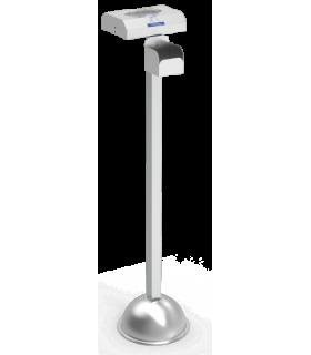 Distributeur mixte de gants et de gel hydroalcoolique en bouteille