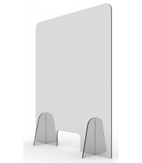 Vitrine de protection en plexiglass modèle 1