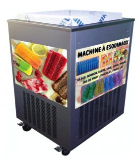 Machine artisanale à glaces pour esquimaux