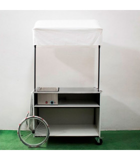 CHARIOT AMBULANT POUR HOT DOG