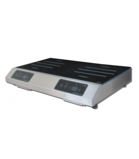 Plaque induction double foyers induction 6000 W