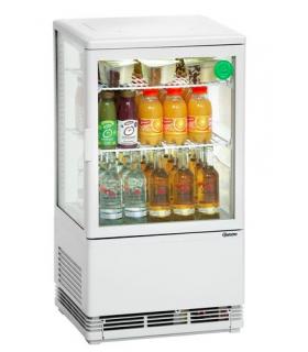 Mini vitrine réfrigérée positive de 58 L à 98 L