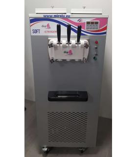 Machine à glace soft sur roulettes en triphasée 400V - Constructeur Gris