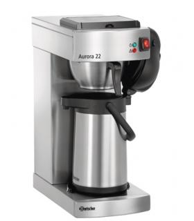 Machine à café avec cafetière thermos