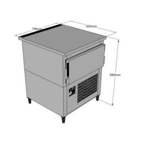 Cellule de refroidissement GN 1/1 600x400 Acfri, modèle RS15/RL