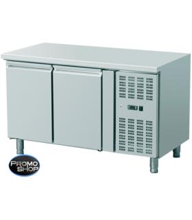 Table réfrigérée gamme 700 température négative (modèle 2 portes sans dosseret)
