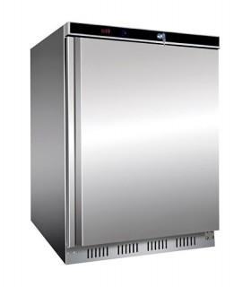 Mini armoire réfrigérée en inox positive ou négative