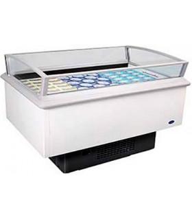 Bac libre service bi-température - Longueur 1500 ou 2000 mm