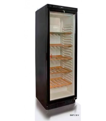 cave vin vitrine capacit 90 bouteilles de 75 cl equipement bar. Black Bedroom Furniture Sets. Home Design Ideas