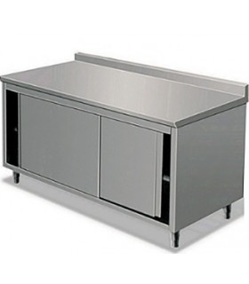 Table armoire inox neutre gamme 600