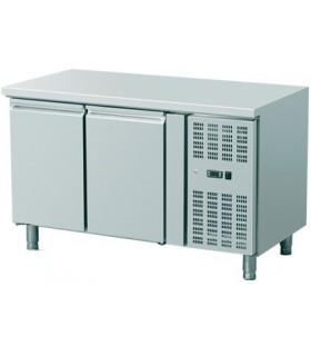 Meuble réfrigéré horizontal inox gamme 700 avec ou sans dosseret