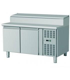 Meuble de préparation réfrigéré profondeur 700 ou 800, 2 ou 3 portes