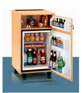 Frigo Bar meuble en bois DOMETIC