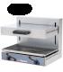 Salamandre électrique professionnelle - plaque de cuisson supérieure mobile