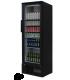 Armoire à boissons coloris noir 307 litres