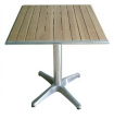 Lot 2 tables bistro plateau en frêne