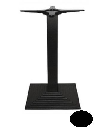 pieds de table carr en fonte mat riel cuisine pro. Black Bedroom Furniture Sets. Home Design Ideas