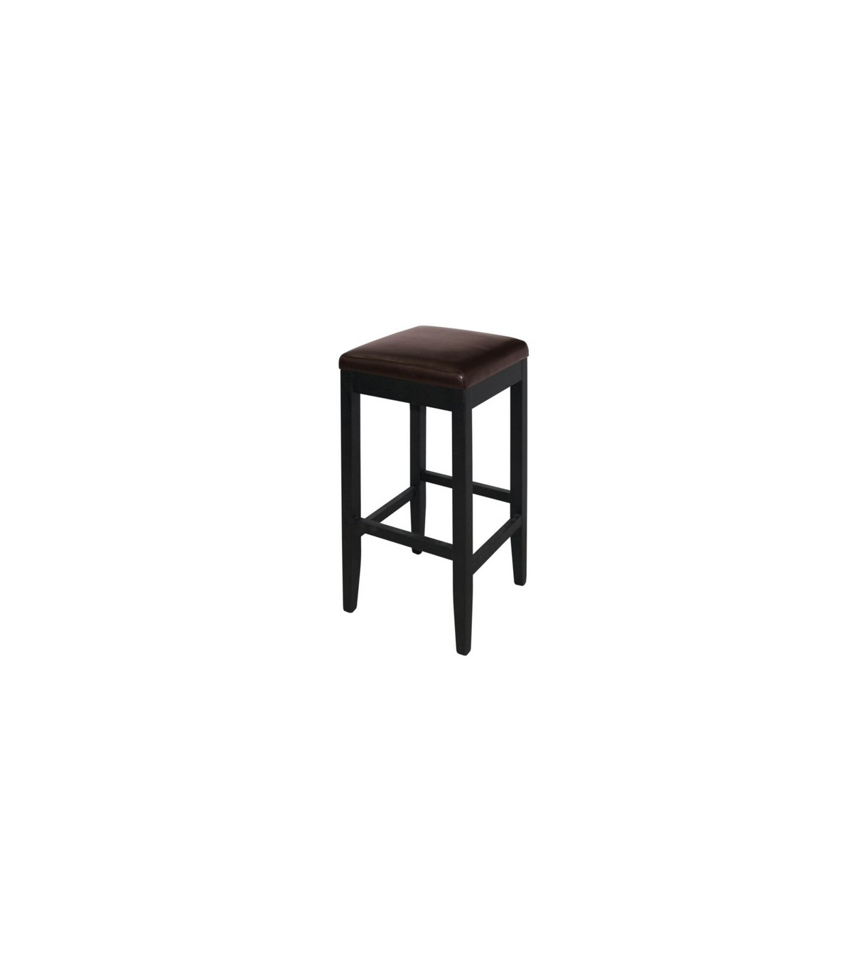 tabouret de bar simili cuir sans dossier mobilier pour restauration. Black Bedroom Furniture Sets. Home Design Ideas