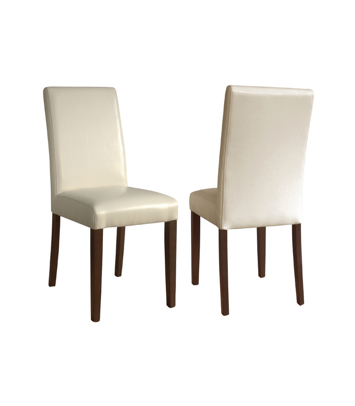 chaise dos plein en simili cuir mat riel professionnel pour chr. Black Bedroom Furniture Sets. Home Design Ideas