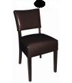 Chaise confortable en simili cuir