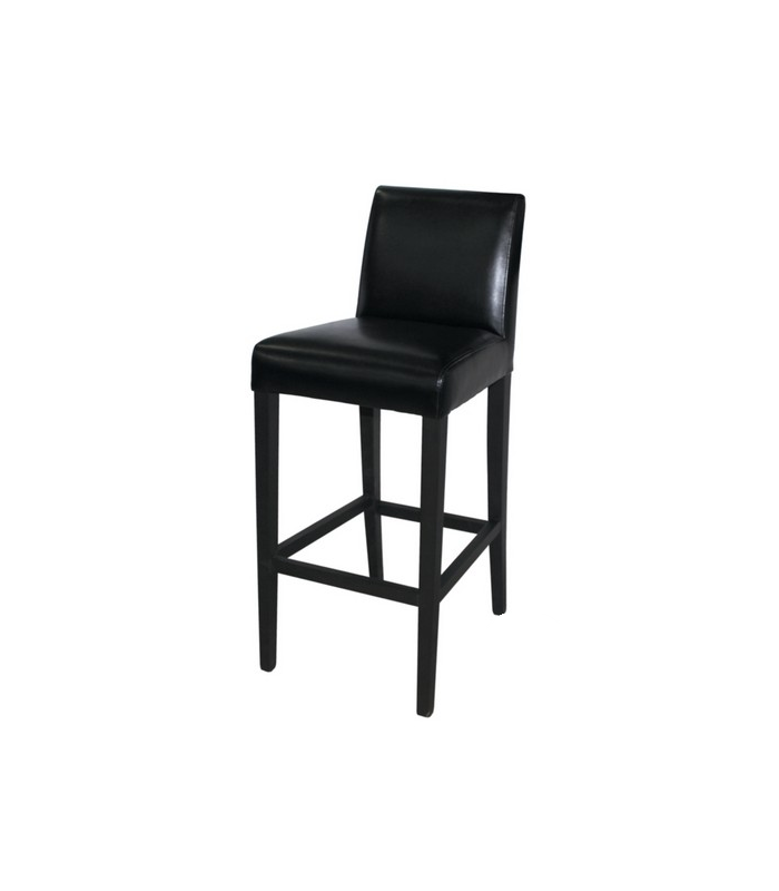 chaise haute simili cuir int rieur tabouret de bar. Black Bedroom Furniture Sets. Home Design Ideas