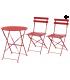 Lot Table et chaise de terrasse