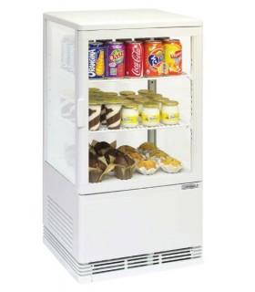 Mini vitrine réfrigérée positive 58 L à 68 L