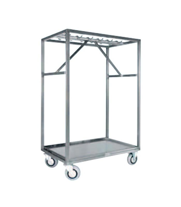 Chariot inox pour carcasse mat riel professionnel pour for Materiel inox professionnel
