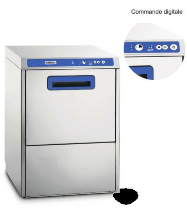 Lave vaisselle pro double paroi avec adoucisseur et pompe for Vaisselle hotellerie restauration