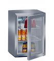 Mini armoire à boisson inox 45 litres avec éclairage LED