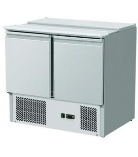 Meuble réfrigéré horizontal moteur en dessous 2 ou 3 portes