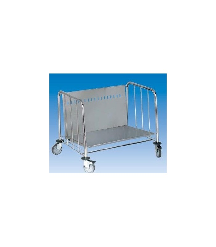 Chariot inox porte assiette pour restaurant self for Chariot inox restauration