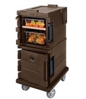 Chariot isotherme de transport pour bacs gastronormes