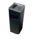 Cendrier poubelle inox