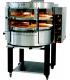 Four à pizza rotatif à gaz - Capacité 8, 16 ou 24 pizzas