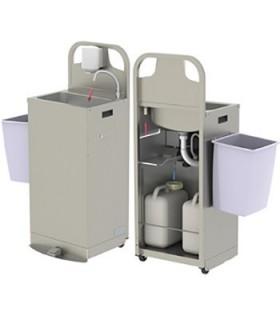 Lave-mains autonome chauffant