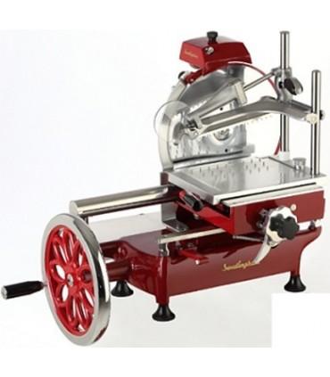 Trancheuse jambon manuelle l 39 ancienne 250 mm fac - Machine a couper le jambon manuelle ...