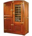 Armoire ventilée 2 températures, en bois