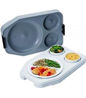 Système de distribution de plateaux-repas